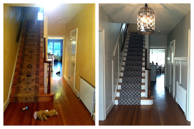 Difference Between Foyer And Entry : Haute indoor couture client foyer before after