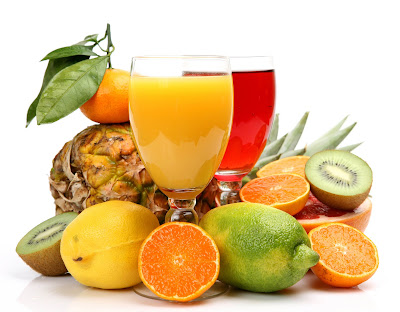 Ricas frutas jugosas y nutritivas