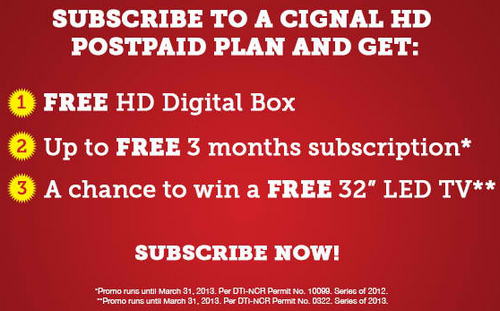 cignal, cignaltv promo, cignal tv