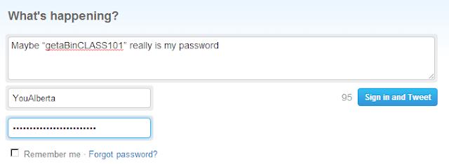 Password Reminder