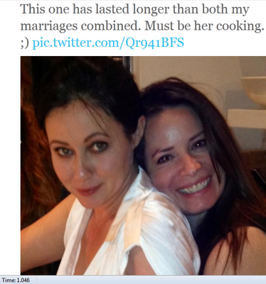 Charmed - Holly Marie Combs and Shannen Doherty hang out | Spoilers