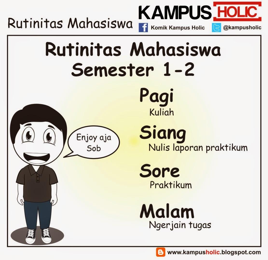 #842 Rutinitas Mahasiswa