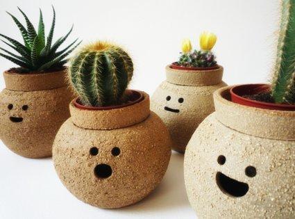 Vintage home plantas y macetas para el interior de la casa for Plantas decorativas de plastico