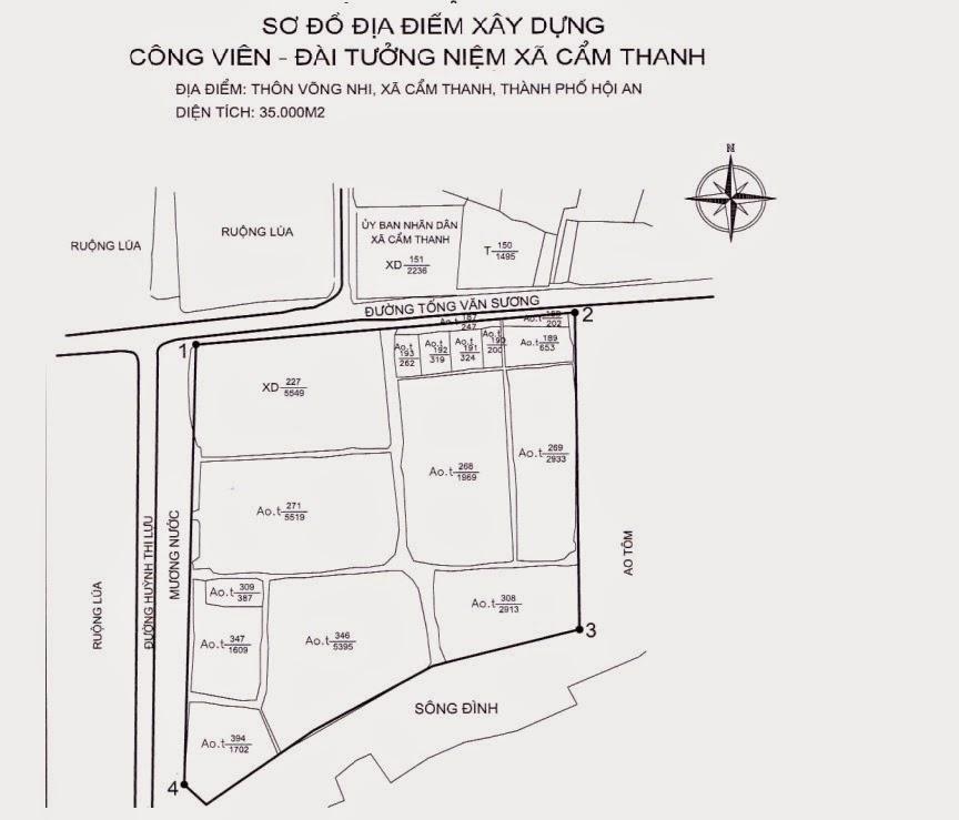 Cuộc thi thiết kế kiến trúc Công viên và đài tưởng niệm Cẩm Thanh