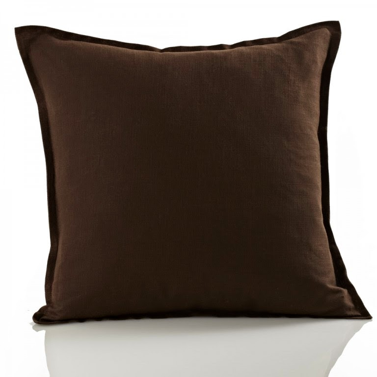 Oxford Pillow in Espresso