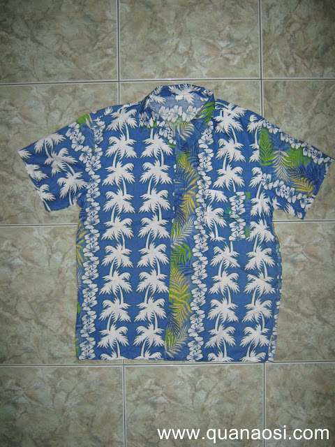 Áo Cây dừa đi biển đẹp xanh dương 60k