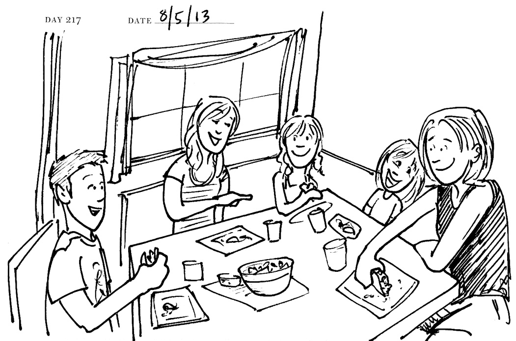 sketch of eating at the dinner table coloring pages Eating Dinner Coloring Page  Coloring Pages Of A Family Eating