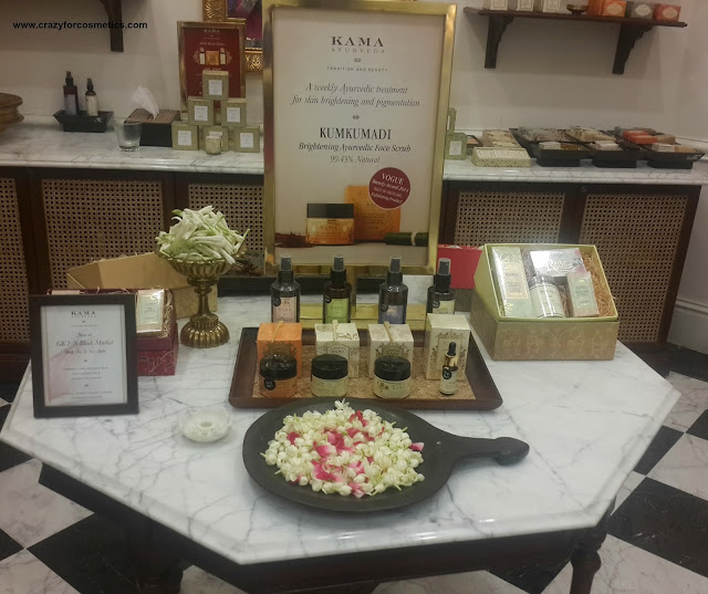Kama Ayurveda Chennai products