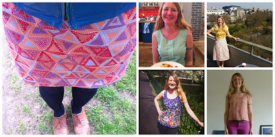 Me Made May 2013 - my outfits for days 1 - 5