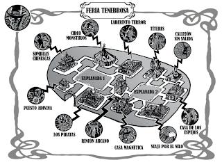 Mapa de la Feria
