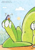 Il Ragnetto Bugo e Rino il Dinosauro