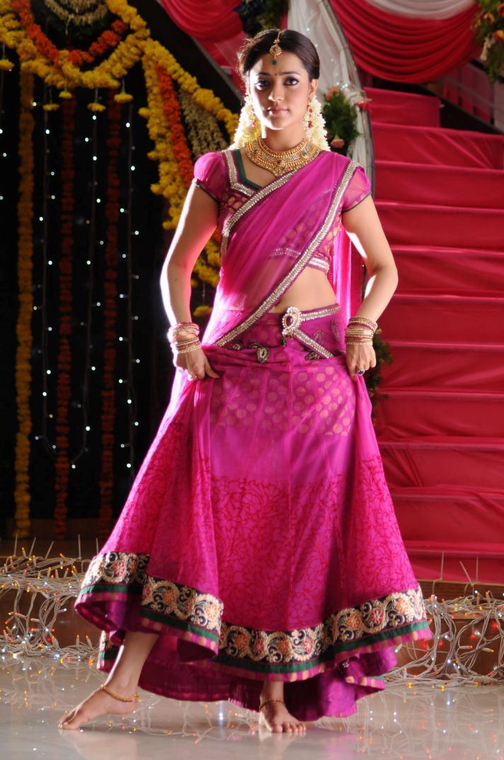Nisha Agarwal Half Saree Stills | Tollywoodtv