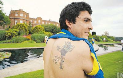 Tatuaje Diego Armando Maradona