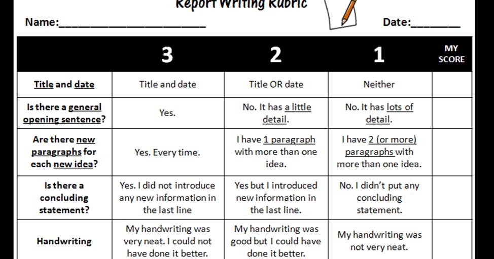 essay evaluation rubric