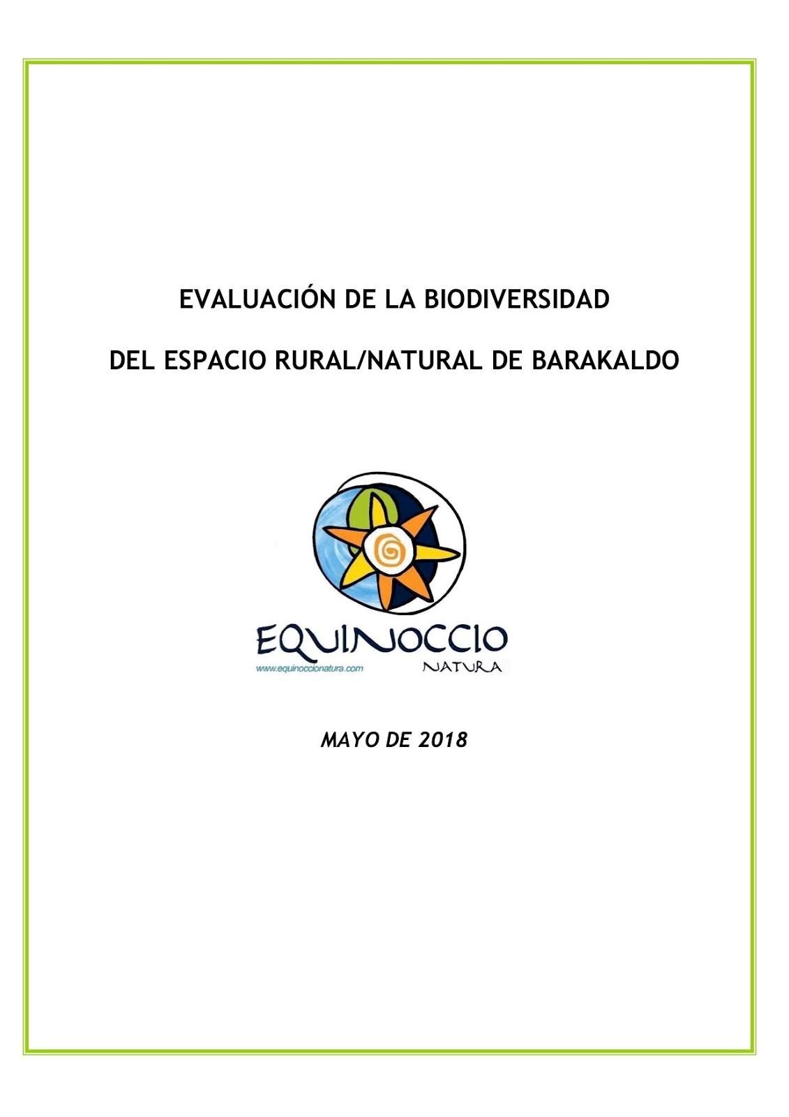 Barakaldoko Biodibersitatearen Txostena / 2018