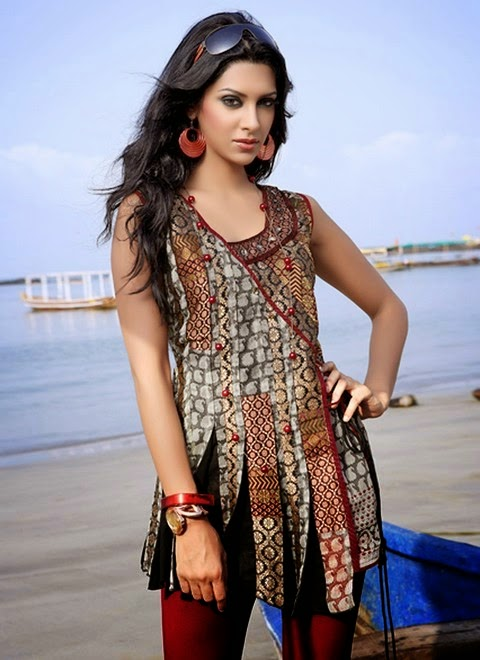 Modern And Colourful Kurti Dresses