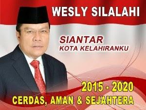 Wesly Silalahi Calon Walikota Siantar