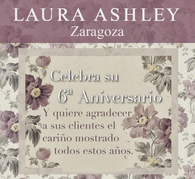 6 aniversario Laura Ashley Zaragoza
