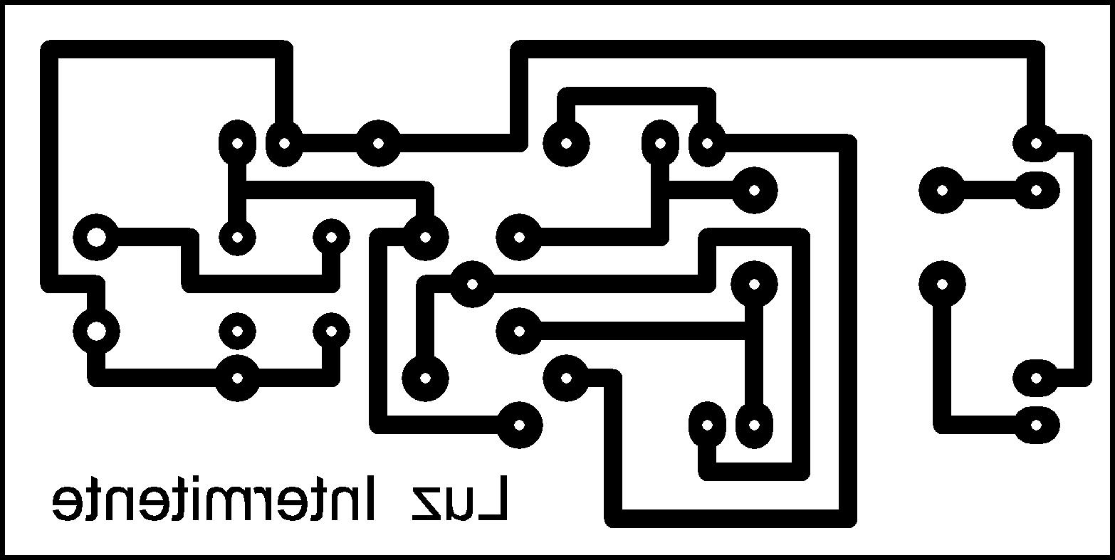 circuito intermitente con transistores  circuito
