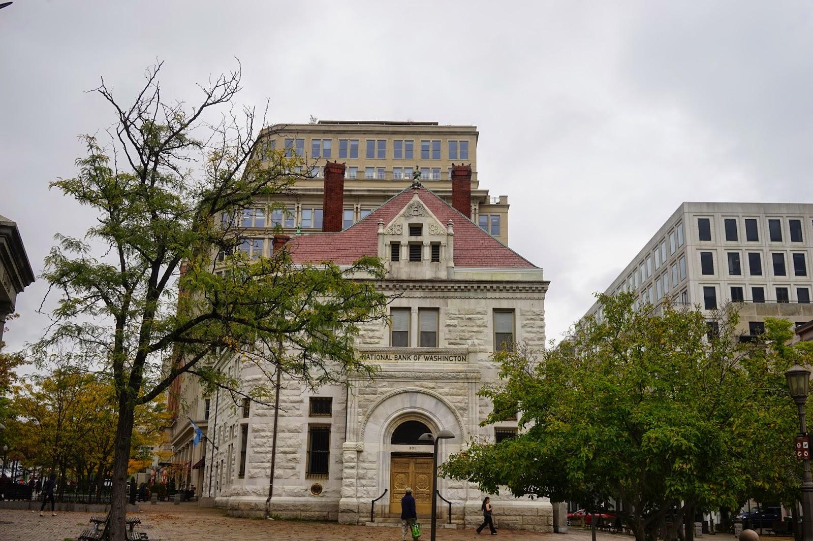 old washington d.c bank