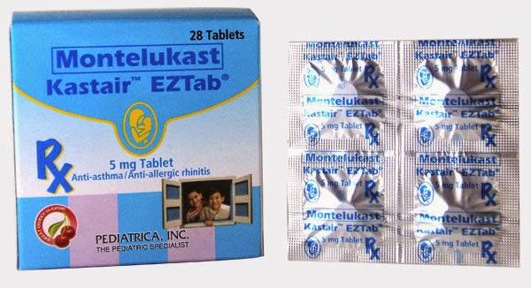 kastair montelukast is this a steroid
