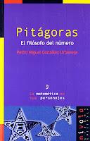 Pitagoras El filosofo del numero libro de Pedro Miguel Gonzalez Urbaneja