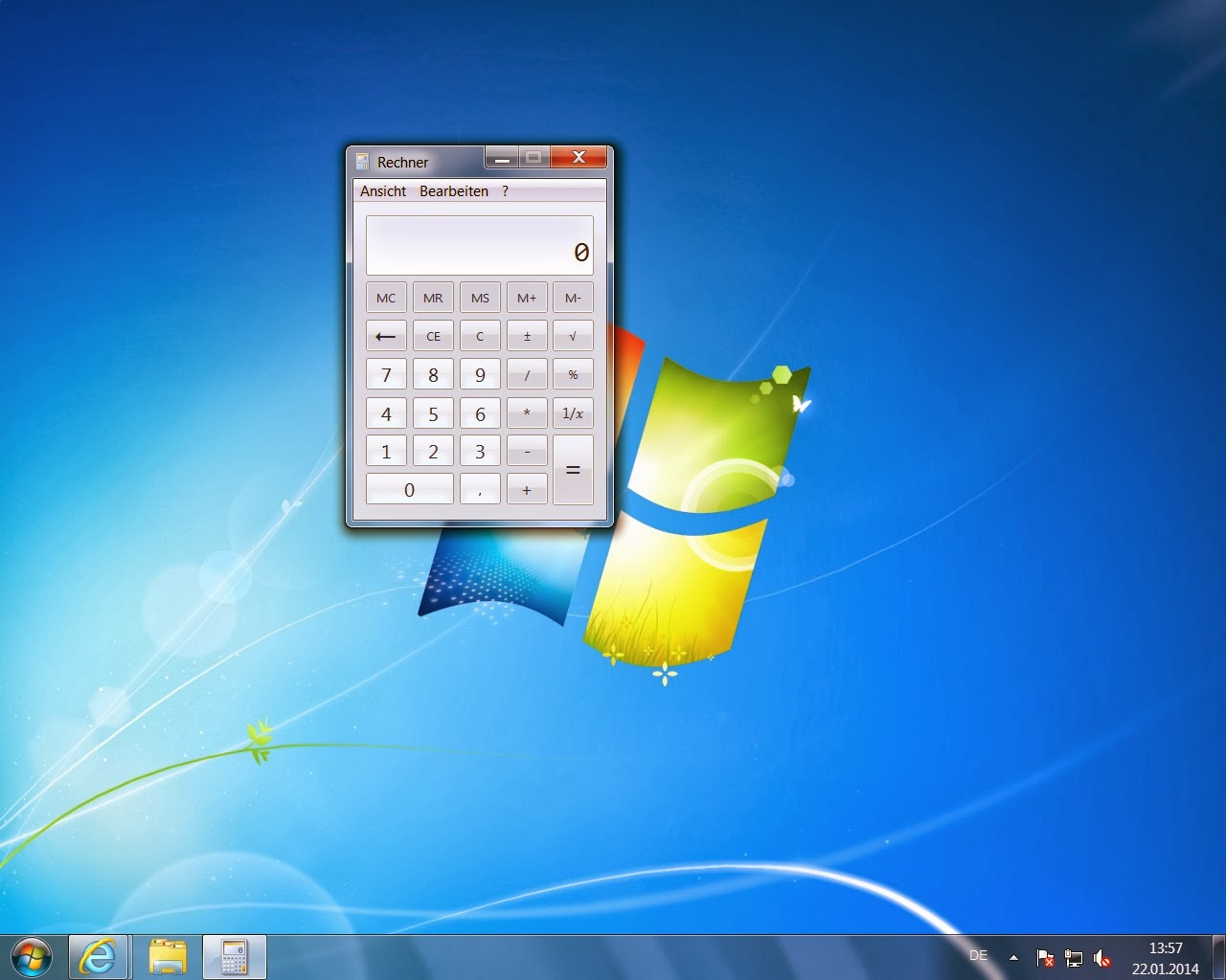Windows 7 ohne Icons