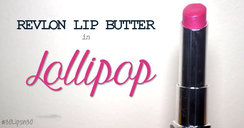revlon lip butter in lollipop