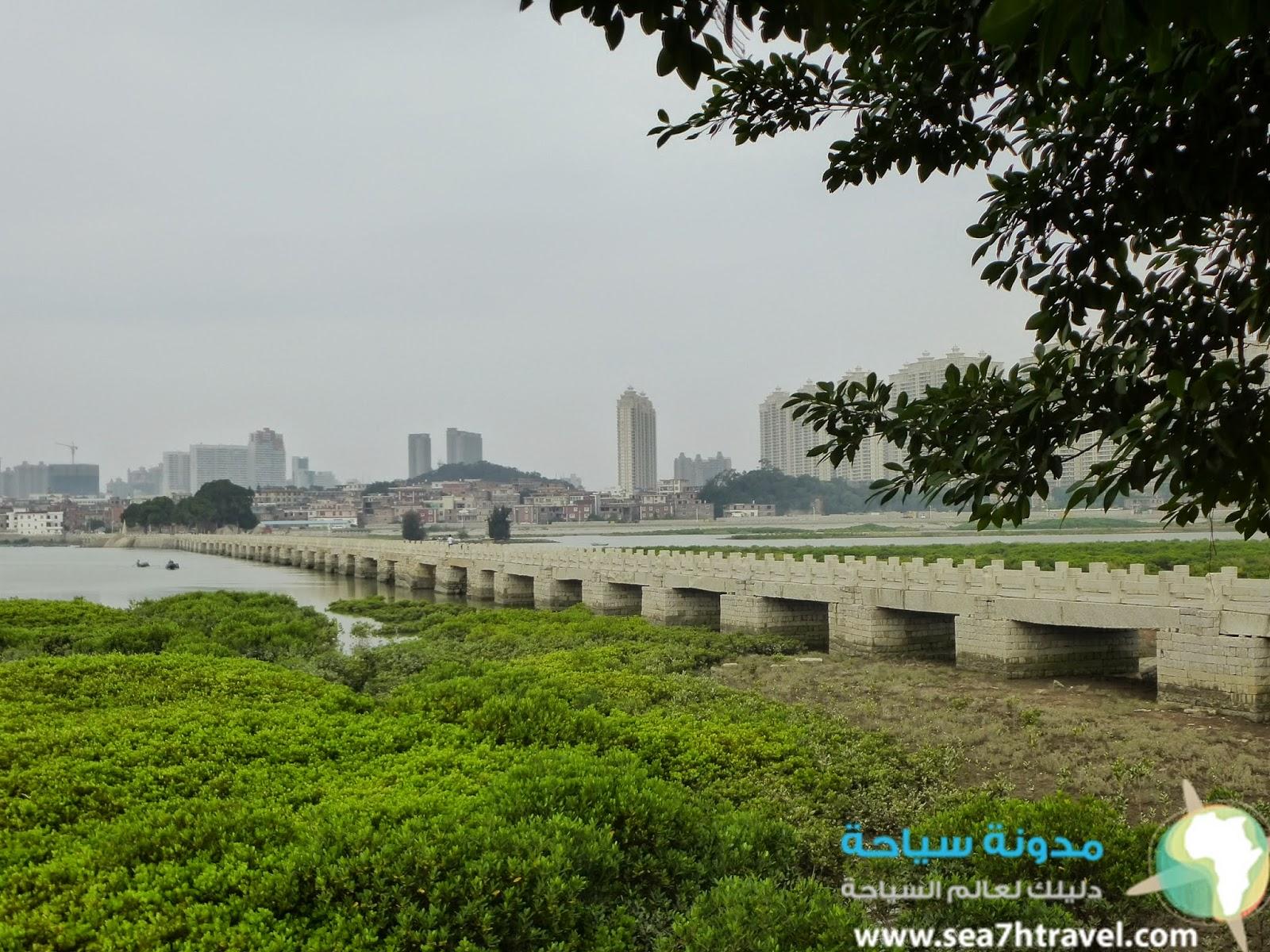 جسر لويانغ الاثري في الصين