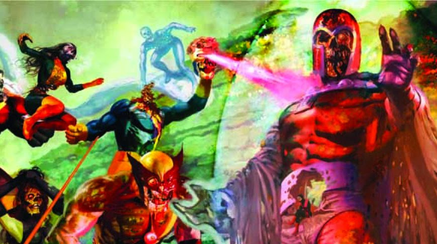 X-Men Magneto Marvel Zombies Zomnibus cover
