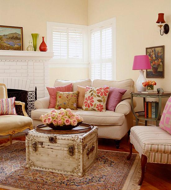 Decorating Ideas Unique Living Rooms: Bricolage E Decoração: Salas Pequenas Decoradas
