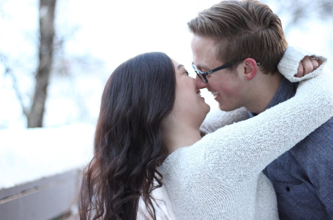 How to take your own engagement pictures