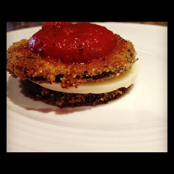 Classico Eggplant Parmesan Recipe — Dishmaps
