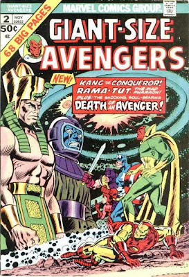 Giant-Size Avengers #2, Kang, Rama Tut, Mantis and the Celestial Madonna