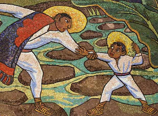 Mosaico 'Río Juchitán' - Diego Rivera