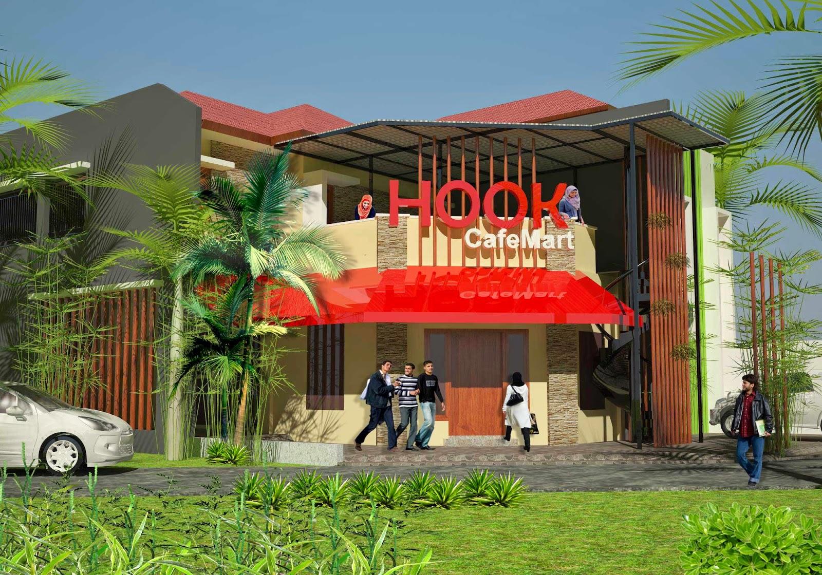 HOOK CafeMart : Rumah Kos, Mini Market & Cafe di Sidoarjo