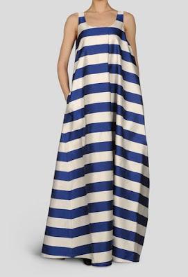 nautical dress, Jil Sander, grayling jewelry