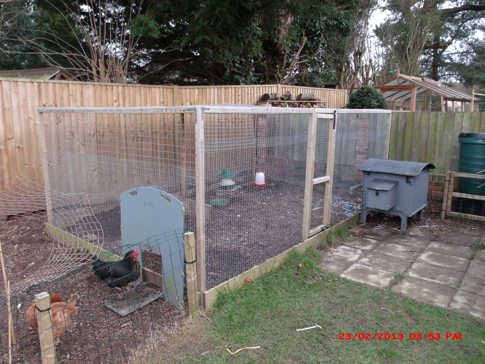 the hjjm effect how to build a chicken run