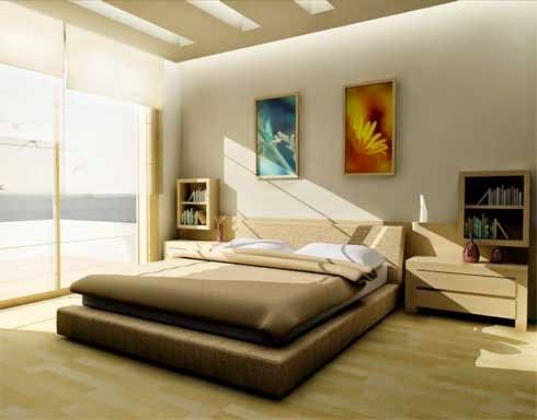 Gambar Kamar Tidur Minimalis Desain Simple Modern Sederhana