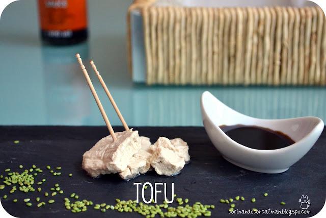 Tofu casero con thermomix