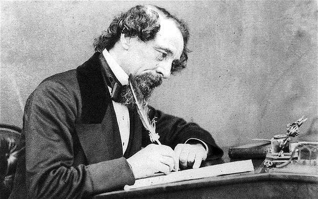 dickens writing style
