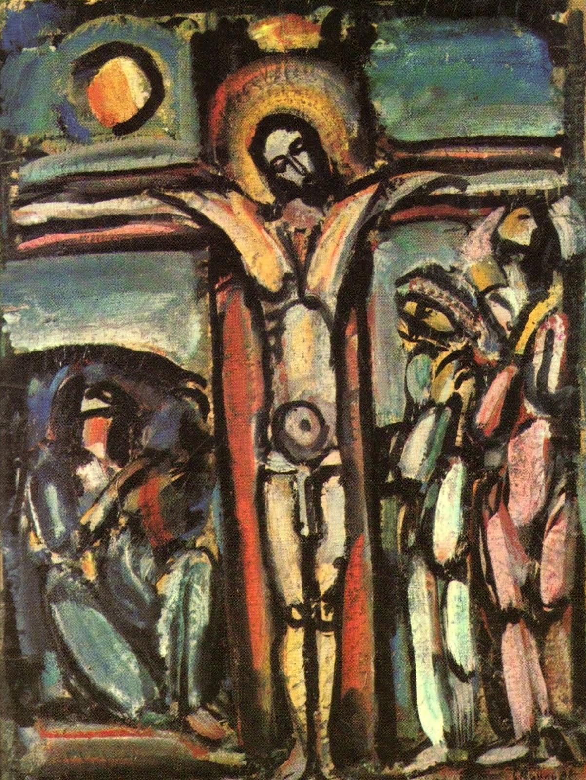 Georges Rouault. Crucifixion (vers 1939)