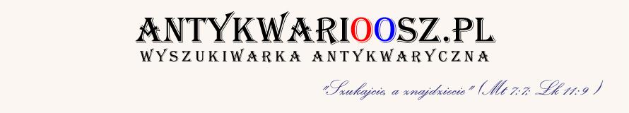 Antykwarioosz.pl - wyszukiwarka antykwaryczna