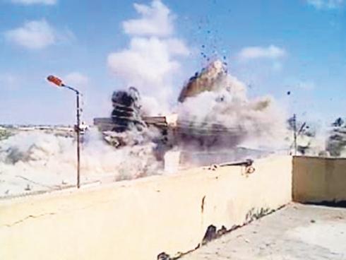 Terowong Gaza Dimusnahkan Tentera Mesir