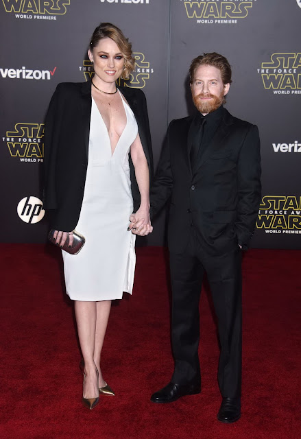 Actress, @ Clare Grant - 'Star Wars, The Force Awakens' premiere in Hollywood