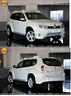 kit de tuning desde la india web dacia duster 4x4. Black Bedroom Furniture Sets. Home Design Ideas