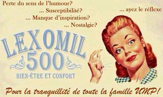 UMP sous Lexomil