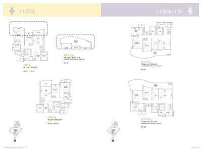 Hallmark Residences 2 bedrooms floor plan