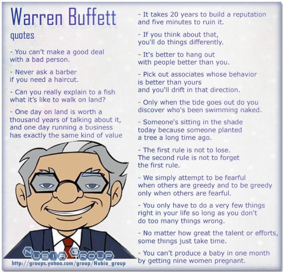 Warren Buffett On Investing Quotes Quotesgram