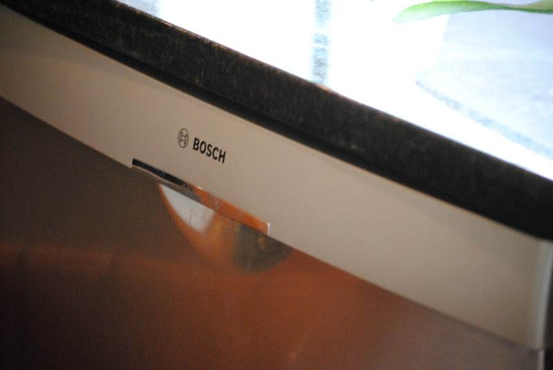 Bosch stainless steel dishwasher